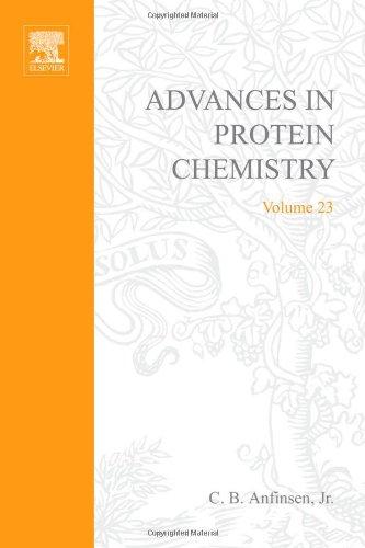 9780120342235: Advances in Protein Chemistry: v. 23
