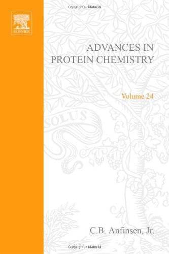 9780120342242: ADVANCES IN PROTEIN CHEMISTRY VOL 24, Volume 24 (v. 24)