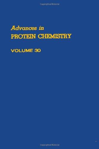 9780120342303: ADVANCES IN PROTEIN CHEMISTRY VOL 30, Volume 30 (v. 30)