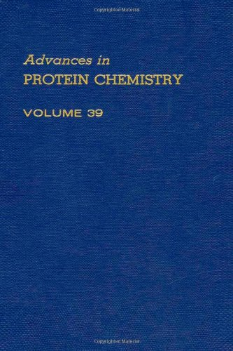 Advances in Protein Chemistry Volume 39