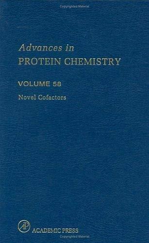 9780120342587: Novel Cofactors: Volume 58 (Advances in Protein Chemistry)