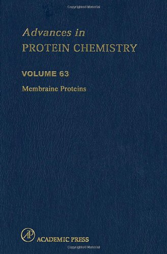 9780120342631: Membrane Proteins, Volume 63 (Advances in Protein Chemistry)