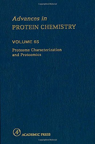 9780120342655: Proteome Characterization and Proteomics, Volume 65 (Advances in Protein Chemistry)