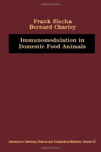 9780120392353: Immunomodulation in Domestic Food Animals (Advances in Veterinary Medicine) (v. 35)