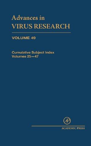 9780120398492: Cumulative Subject Index, Volume 49 (Advances in Virus Research)