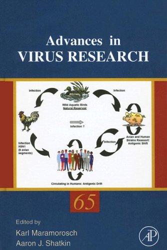 9780120398676: Advances in Virus Research, Volume 65