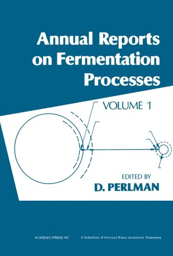 9780120403011: Annual Reports on Fermentation Processes. Volume 1