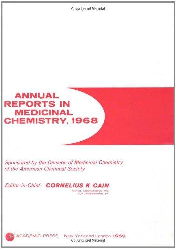 9780120405046: ANNUAL REPORTS IN MED CHEMISTRY V4 PPR, Volume 4