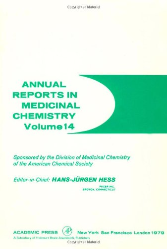 9780120405145: Annual Reports in Medicinal Chemistry: v. 14