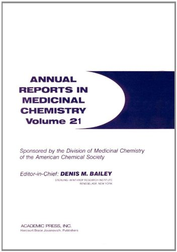 9780120405213: Annual Reports in Medicinal Chemistry (Volume 21)