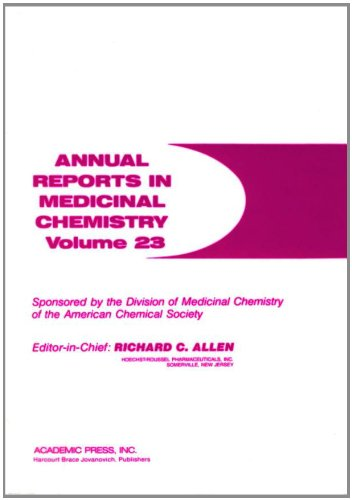 9780120405237: Annual Reports in Medicinal Chemistry (Volume 23)