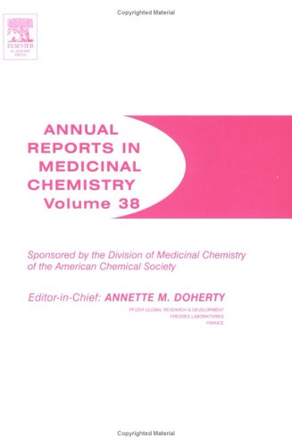 9780120405381: Annual Reports in Medicinal Chemistry, Volume 38