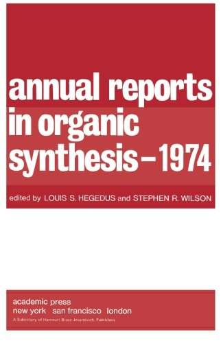 9780120408054: Ann Reports Organic Synthes 1974 (v. 5)