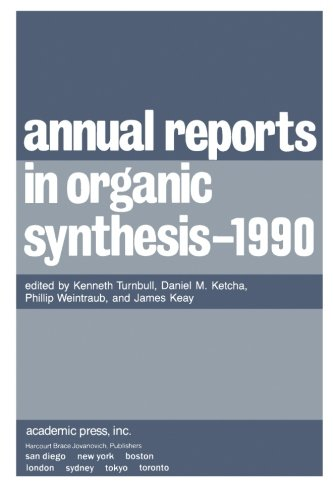 9780120408207: Annual Reports in Organic Synthesis - 1990 (v. 19)