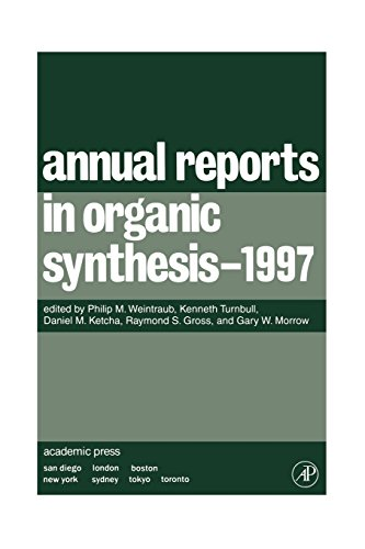9780120408276: Annual Reports in Organic Synthesis 1997