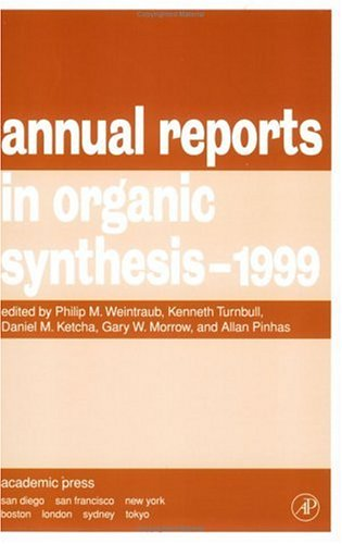 9780120408290: Annual Reports in Organic Synthesis 1999
