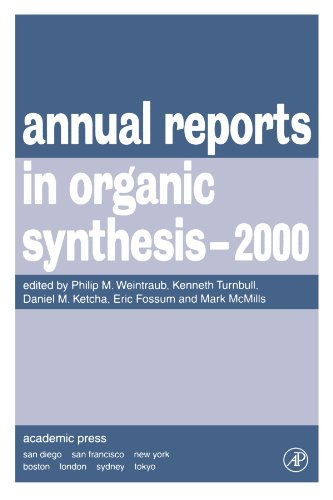 9780120408306: Annual Reports in Organic Synthesis, 2000