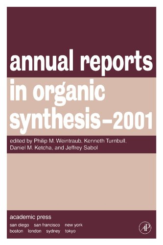 9780120408313: Annual Reports in Organic Synthesis 2001