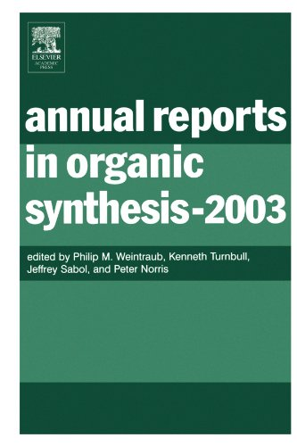 9780120408337: Annual Reports in Organic Synthesis (2003), Volume 2003