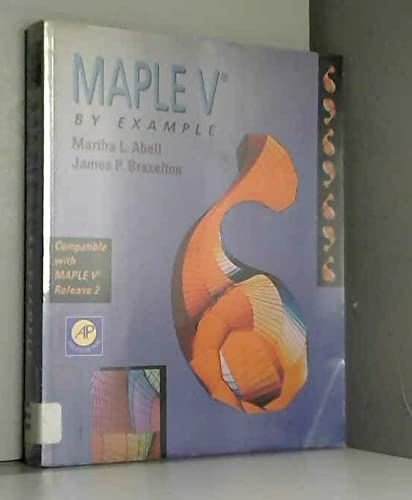 9780120415458: Maple V by Example