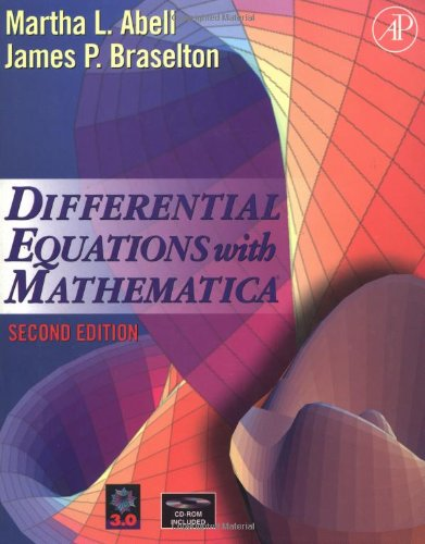 9780120415502: Differential Equations with Mathematica, Second Edition