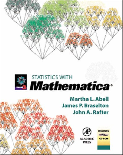 9780120415540: Statistics with Mathematica