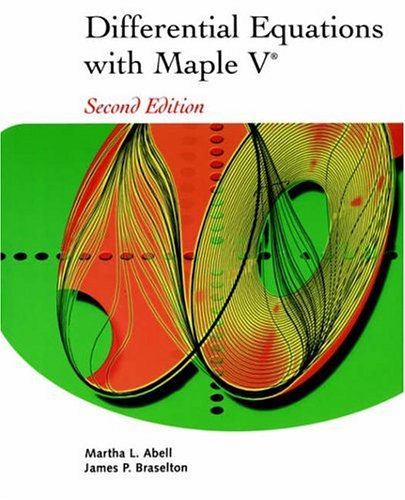 9780120415601: Differential Equations with Maple V, Second Edition