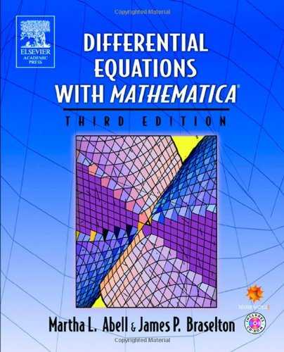 9780120415625: Differential Equations with Mathematica, Third Edition