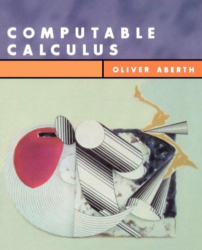 9780120417520: Computable Calculus