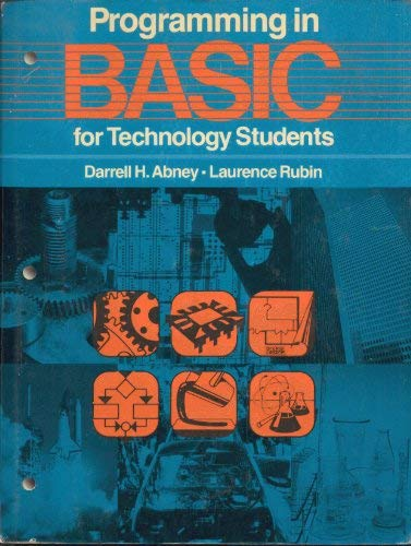 9780120421602: Programming in Basic for Technology Students