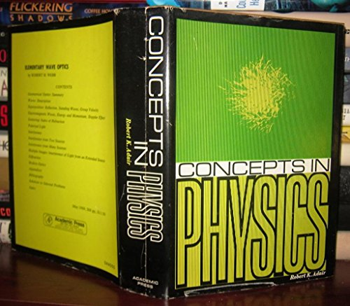 9780120440504: Concepts in Physics
