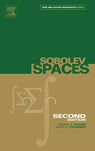 9780120441433: Sobolev Spaces: 140 (Pure and Applied Mathematics)