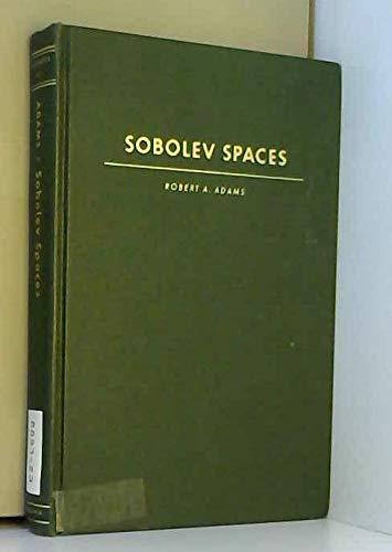 9780120441501: Sobolev Spaces