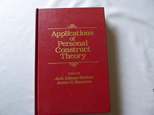 9780120442409: Applications of Personal Construct Theory