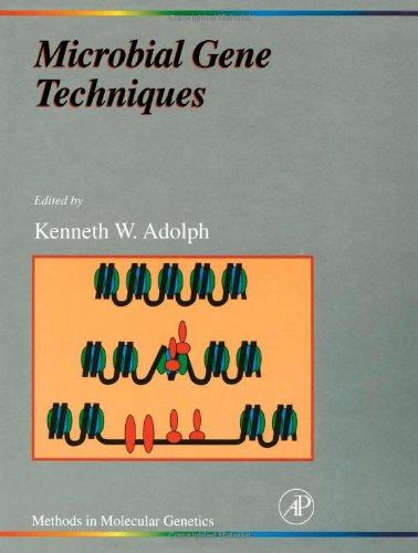 9780120443086: Microbial Gene Techniques, Volume 6: Molecular Microbiology Techniques Part B (Methods in Molecular Genetics)