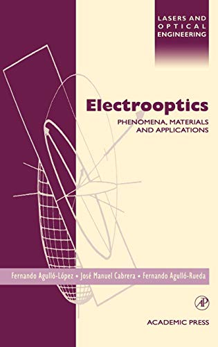 9780120445127: Electrooptics: Phenomena, Materials and Applications