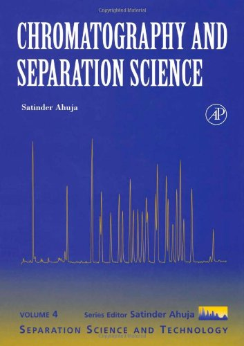 9780120449811: Chromatography and Separation Science, Volume 4 (Separation Science and Technology)