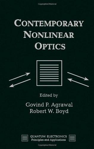 9780120451357: Contemporary Nonlinear Optics (Quantum Electronics--Principles and Applications)