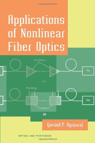 9780120451449: Applications of Nonlinear Fiber Optics (Optics and Photonics)