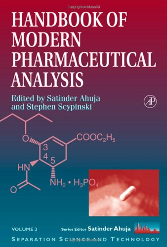 9780120455553: Handbook of Modern Pharmaceutical Analysis (Separation Science and Technology)