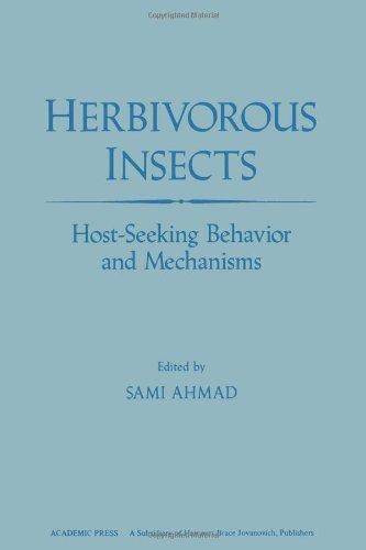 9780120455805: Herbivorous Insects: Host-seeking Behaviour and Mechanisms