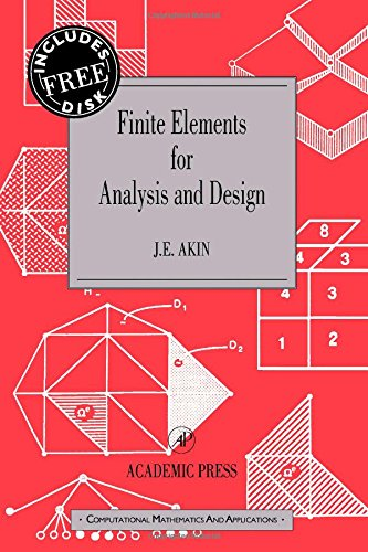 9780120476541: Finite Elements for Analysis and Design: Computational Mathematics and Applications Series