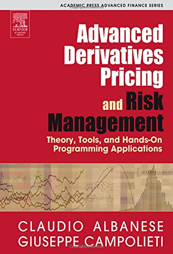9780120476824: Advanced Derivatives Pricing And Risk Management: Theory, tools and Hands-On Programming Application