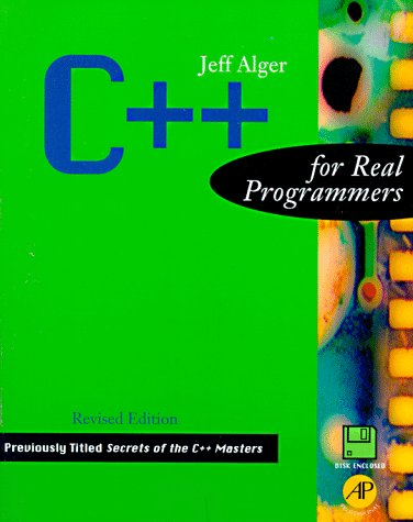 9780120499427: C++ for Real Programmers, Revised Edition