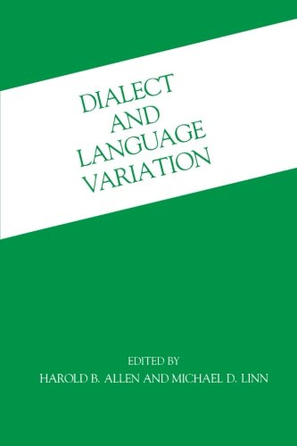 9780120511303: Dialect and Language Variation