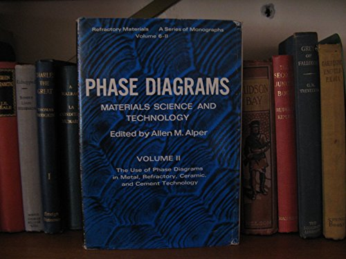9780120532025: Phase Diagrams: v. 2: Materials Science and Technology (Refractory Materials Monograph)