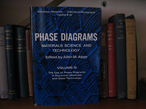 Phase Diagrams: v. 3: Materials Science and Technology (Refractory Materials Monograph)