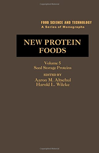 9780120548057: New Protein Foods: Seed Storage Proteins v. 5A: Technology (Food Science & Technological Monograph)