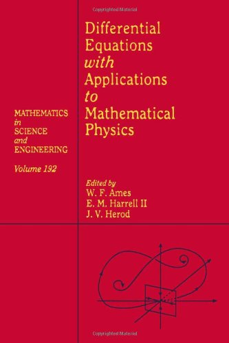 9780120567409: Differential Equations with Applications to Mathematical Physics, Volume 192 (Mathematics in Science and Engineering)