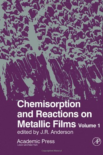 9780120580019: Chemisorption and Reactions on Metallic Films: v. 1 (Physical chemistry, a series of monographs)